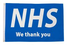 NHS WE THANK YOU  - 5X3 FLAG